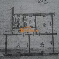 3-к квартира, 69 м², 2/2 этаж